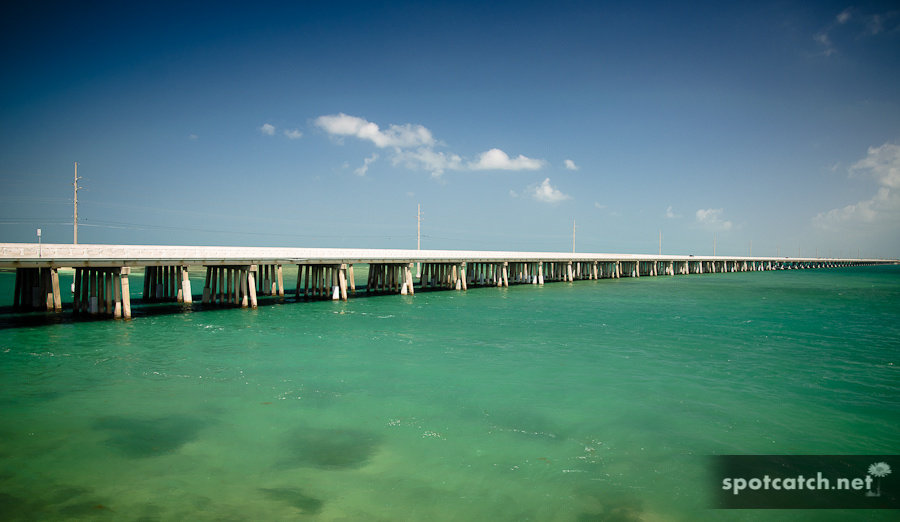 seven miles bridge auf den florida keys