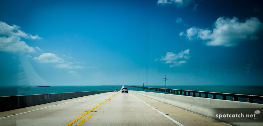 7 miles bridge auf den florida keys