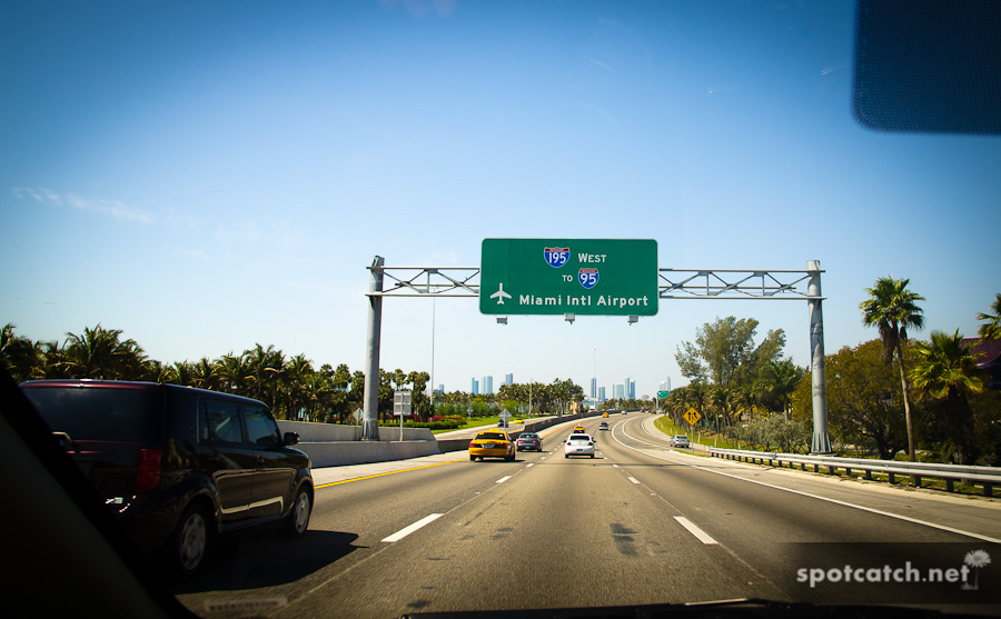 amerikanischer highway in miami